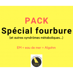 """Pack """"spécial fourbure"""" et autre syndrome métabolique"""